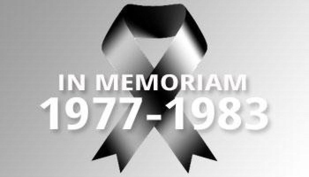 1977-1983 – In Memoriam