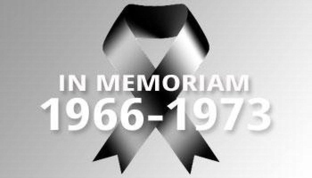 1966-1973 – In Memoriam