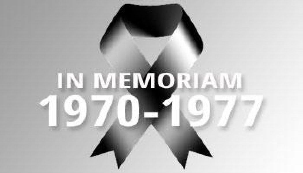 1970-1977 – In Memoriam